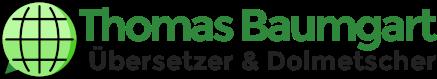 Logo Thomas Baumgart Übersetzer Dolmetscher