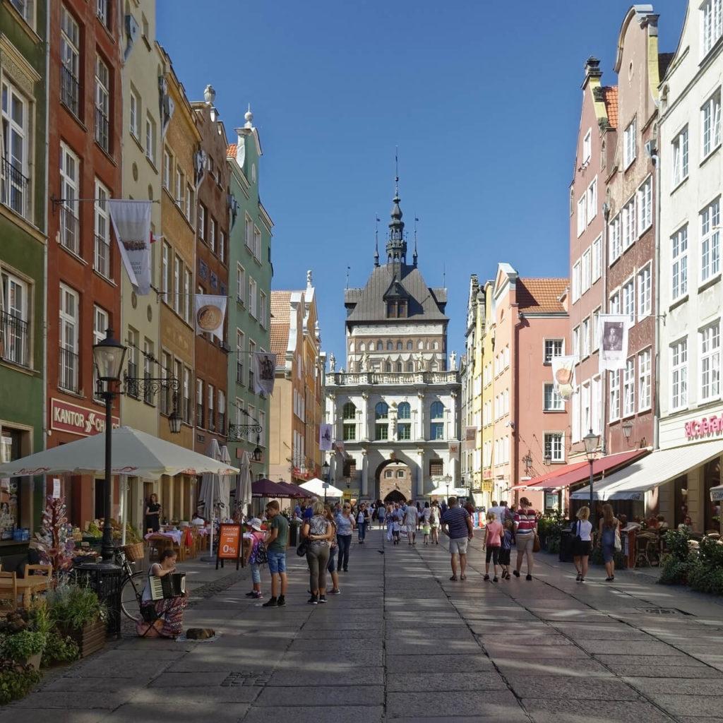 Gdansk Ulica Dluga