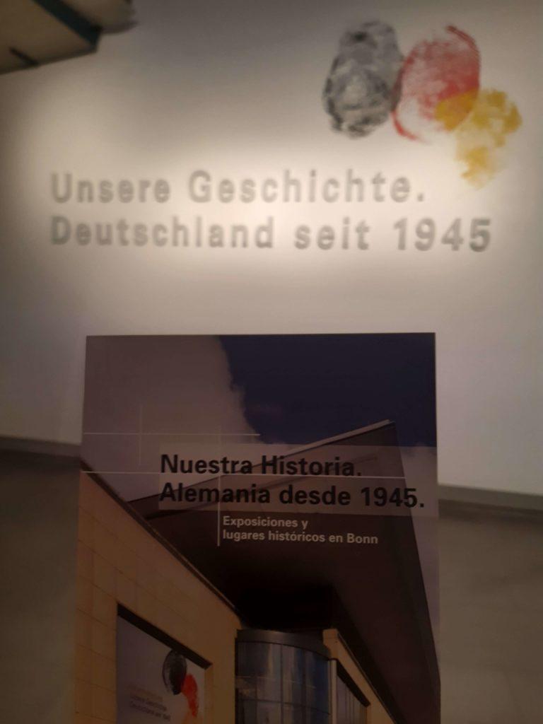 Besuch im Haus der Geschichte: Unsere Geschichte. Deutschland seit 1945.