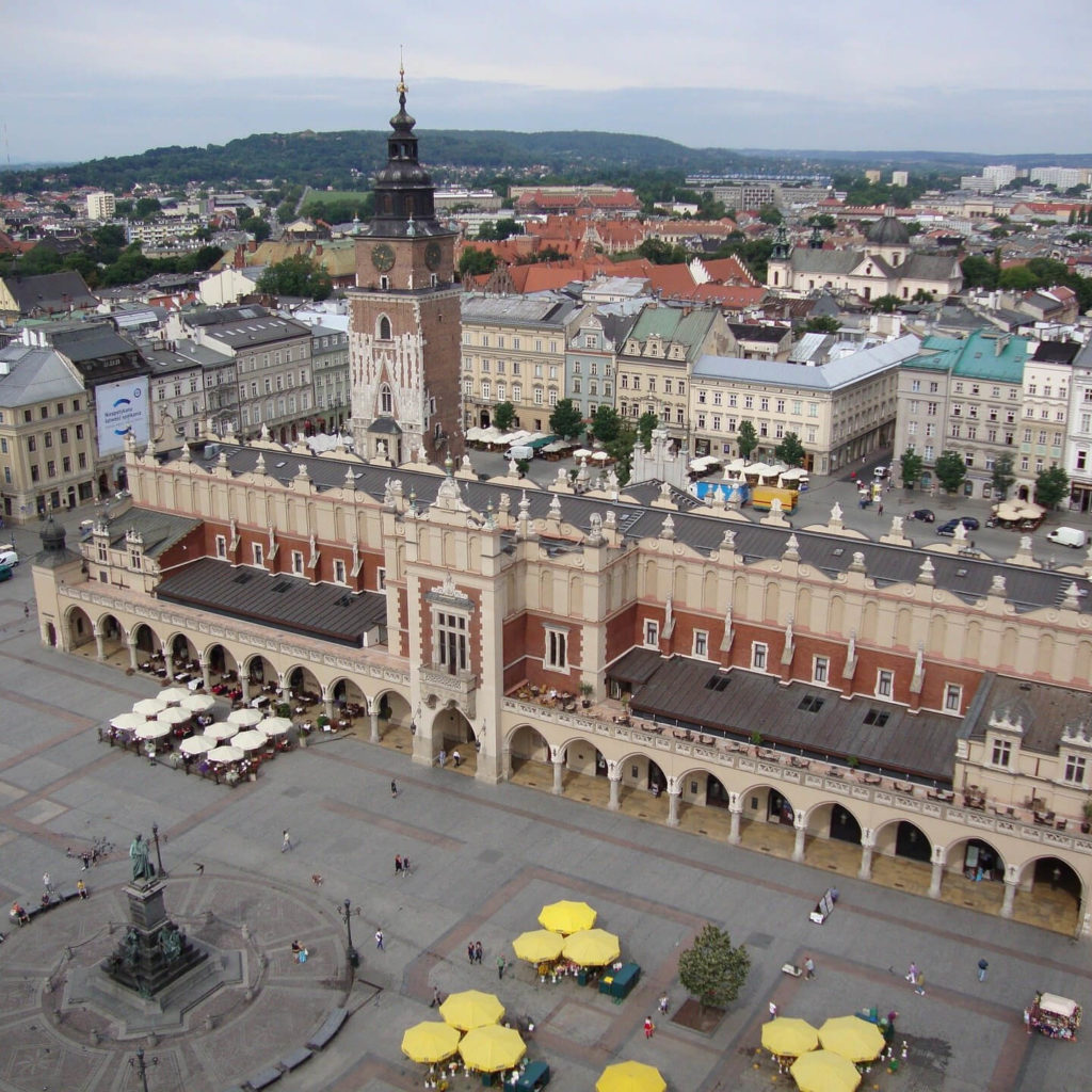 Krakau Rathausplatz