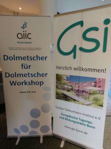 Herzlich willkommen zum Dolmetscher-für-Dolmetscher-Workshop 2020