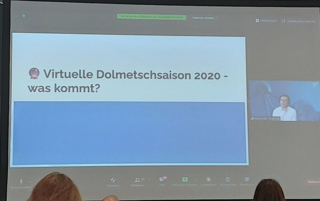 Virtuelle Dolmetschsaison 2020 - was kommt?